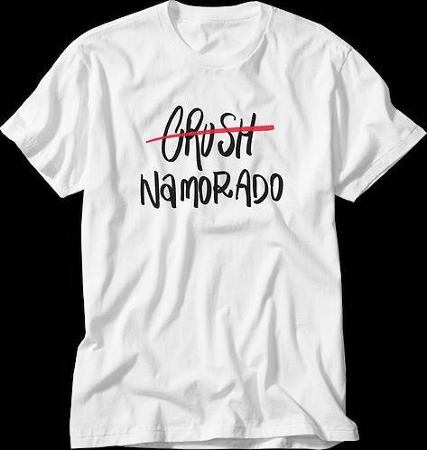 Camiseta Lista Namorada / Namorado