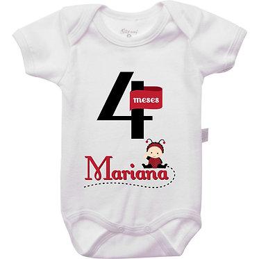Mêsversário - Joaninha I - 4 meses