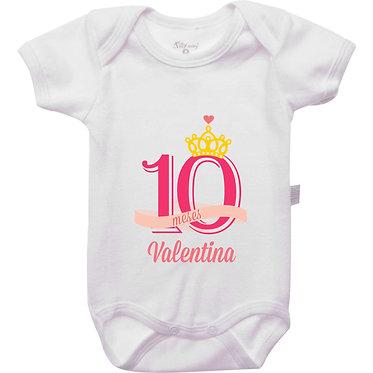 Mêsversário - Coroa Princesa - 10 meses