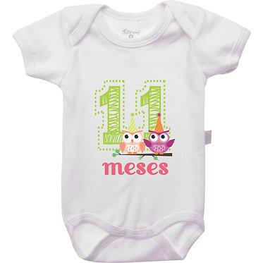 Mêsversário - Corujas - 11 meses