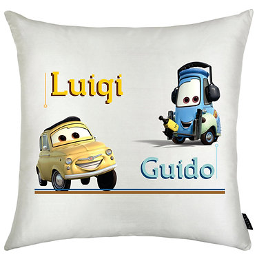 Almofada Carros - Luigi | Guido