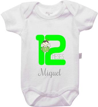 Mêsversário - Anjinhos II - 12 meses