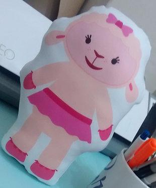 Mini Almofada - Ovelha - Dra. Brinquedo