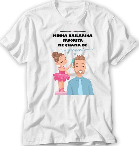 Camiseta Pai de Bailarina Modelo 01