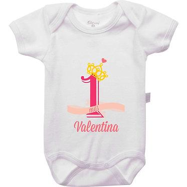 Mêsversário - Coroa Princesa - 1 mês