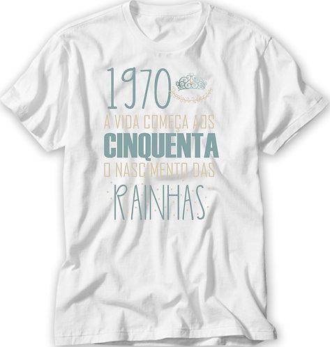 Camiseta Nascimento das Rainhas Clean