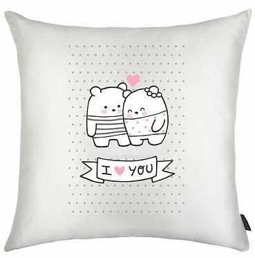 Almofada Dia dos Namorados - Ursos I Love You