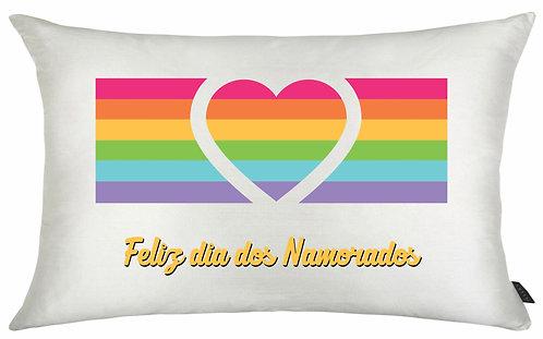 Almofada Dia dos Namorados - Arco Íris