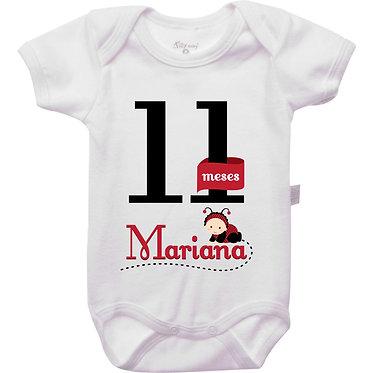 Mêsversário - Joaninha I - 11 meses