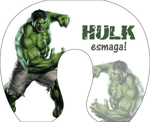 Almofada de Pescoço Hulk Esmaga