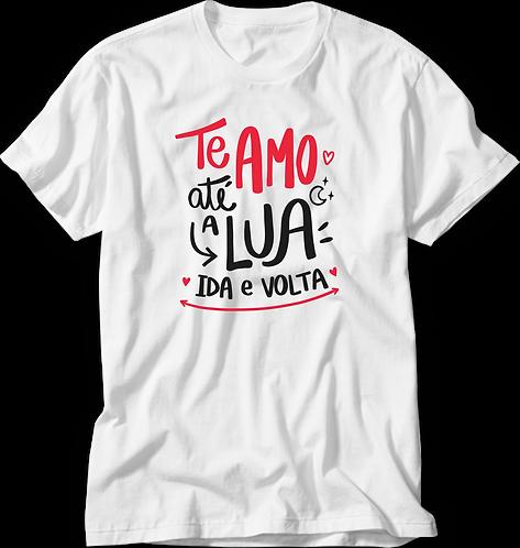 Camiseta Te Amo Até a Lua