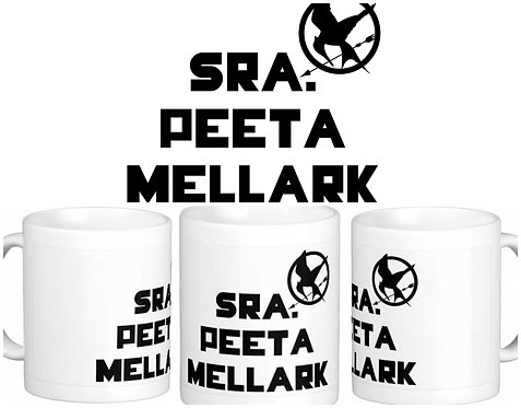 Caneca Jogos Vorazes - Sra. Peeta Mellark