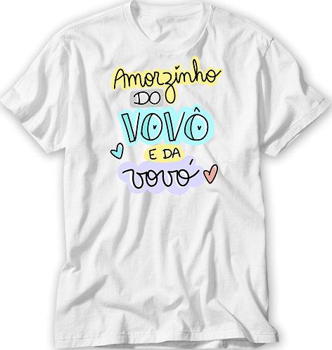 Camiseta Amorzinho do Vovô e da Vovó