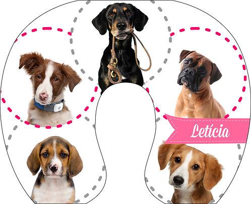 Almofada de Pescoço Cachorros - Fotos