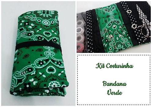 Kit Costurinha - Bandana Verde