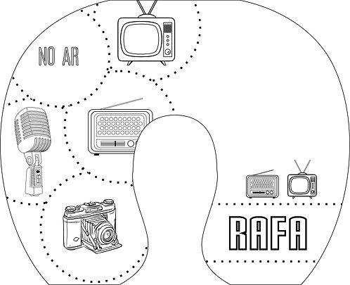Almofada de Pescoço Rádio e Tv - Modelo 03