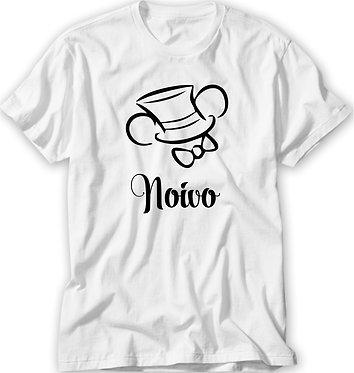 Camiseta Casamento / Chá Bar - Mickey - Noivo II