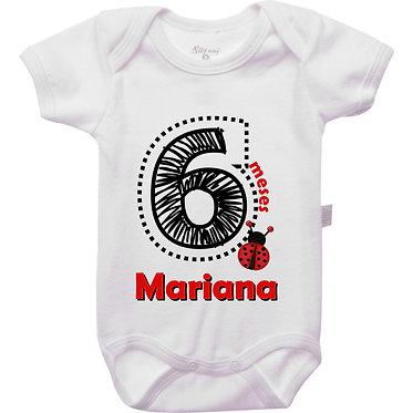 Mêsversário - Joaninha IV - 6 meses