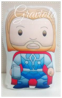 Mini Almofada - Thor