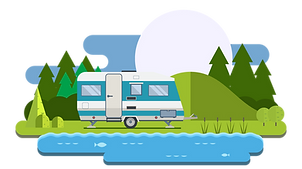 RVs RV Camping Camper Tenting Camp Shuswap Lake Blind Bay