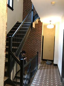 Before Hallway & Railings