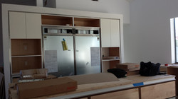 Kitchen During Construction