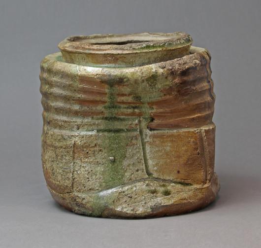 IMG_4990_Fresh water jar, Iga ware.JPG