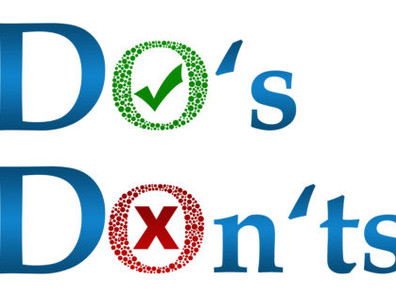 Presentation Do's and Don't's