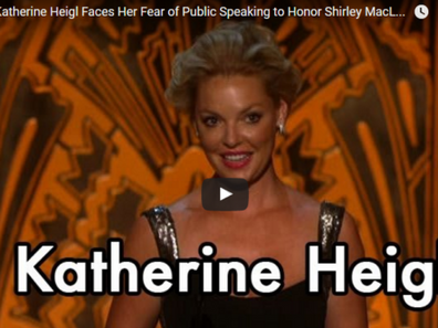 Even Actors Fear Public Speaking