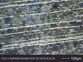 Micrografia - Laboratório Metalúrgico - Ética Empreendimentos Tecnológicos