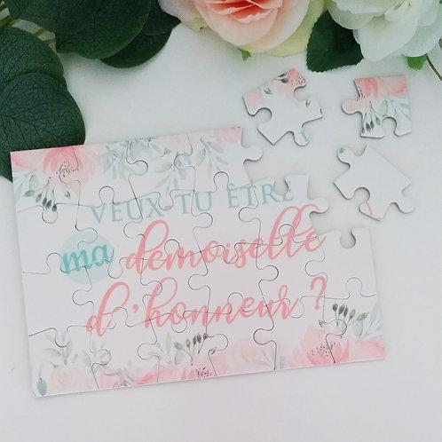 .. Puzzle Fleuri demande Demoiselle d'Honneur ..