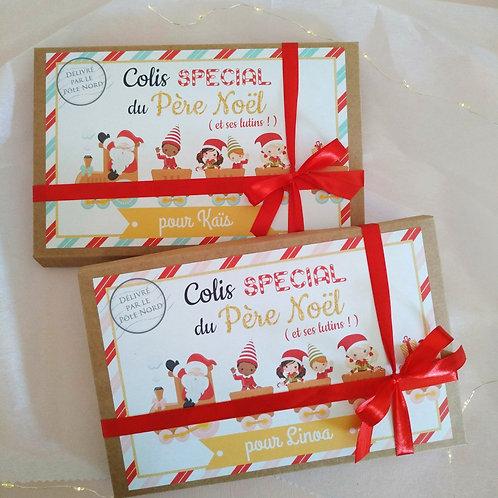 .. Lot de 2 colis du Père Noël (pour 2 enfants) ..