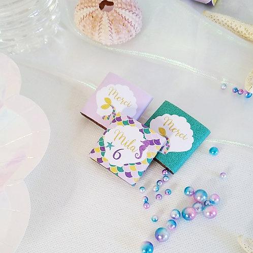 .. Petits Chocolats x10 - Mermaid ..