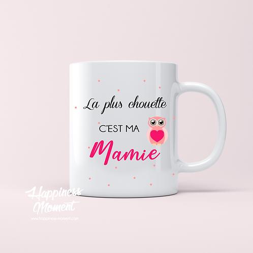 .. Joli mug - Chouette Mamie ..