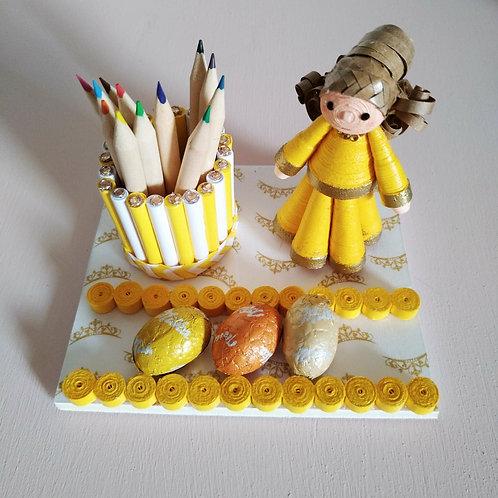 Princesse jaune - Mamina Collection