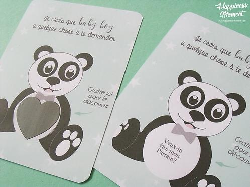 .. Demande Parrain à gratter - Panda ..
