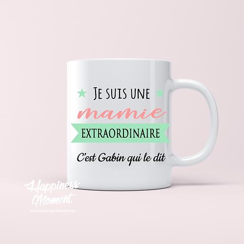 .. Joli mug - Mamie extraordinaire ..