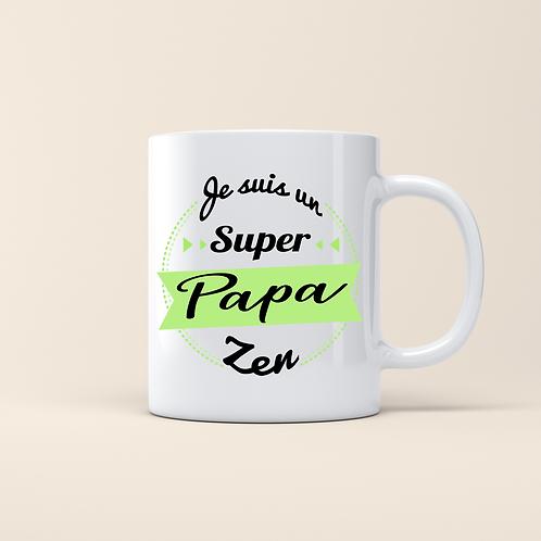 .. Joli mug - Super Papa Zen ..