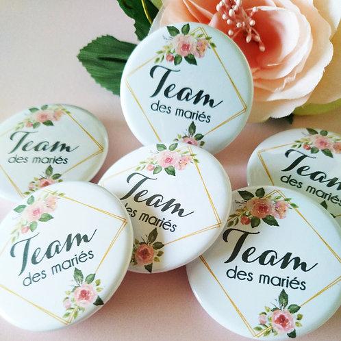Badges pour Mariage/ EVJF/EVJG