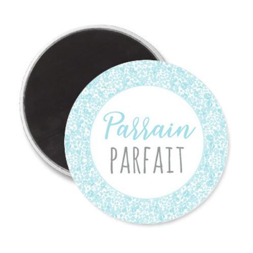 Magnet Parrain - Liberty bleu