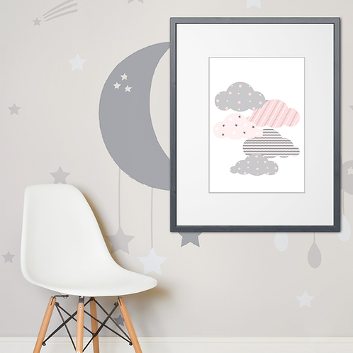 .. Affiche Sweet Graphic Cloud ..