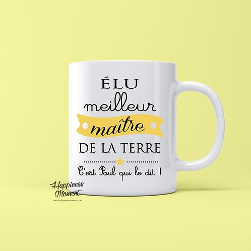 .. Joli mug - Elu Meilleur Maître ..