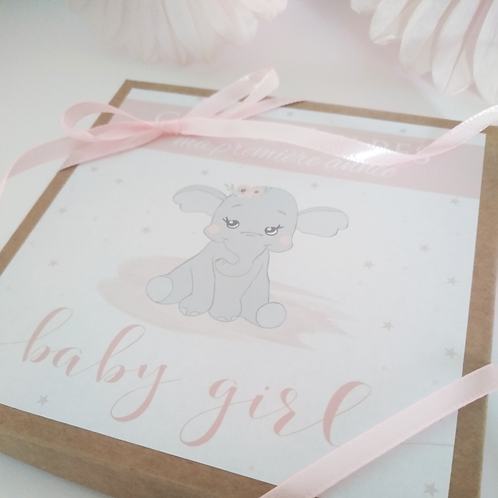 .. Cartes étapes Bébé - Sweet baby girl ..
