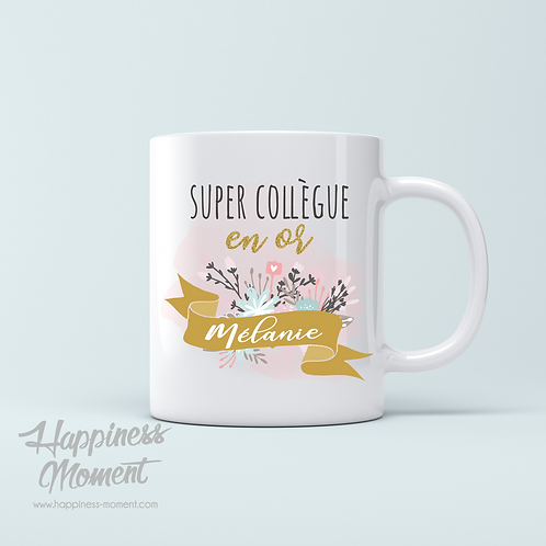 ..Mug - Super collègue..