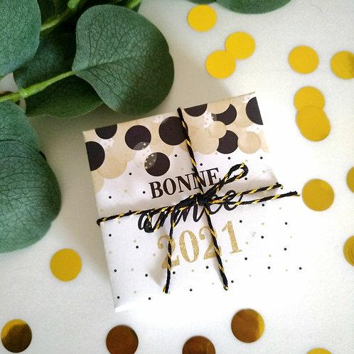 """..Box chocolats """"Bonne année 2021"""".."""
