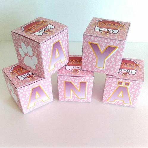 .. Cube lettre x1..