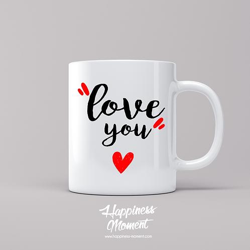 """..Mug - """"Love you"""".."""