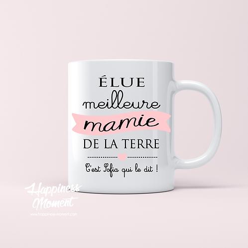 .. Joli mug - Elue Meilleure Mamie ..