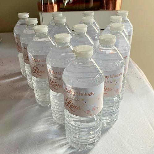 ..Etiquettes petites bouteilles x12..