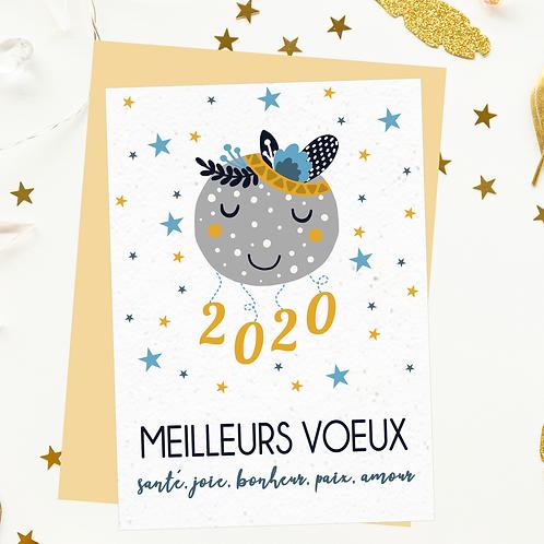 .. Carte à planter 2020 - Sweet Moon..